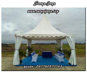 pusat sewa tenda kerucut murah berkualitas