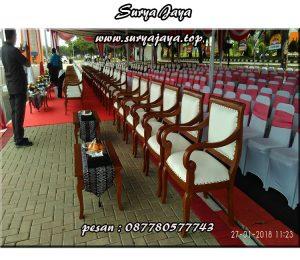 sewa kursi kayu VIP terbesar di jabodetabek
