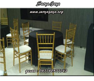 pusat persewaan kursi tifany murah