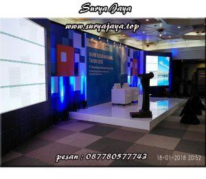 perentalan podium untuk event-event di jabodetabek