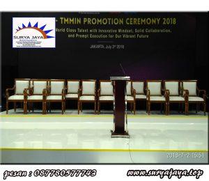 jasa persewaan kursi kayu VIP terbesar dan terlengkap