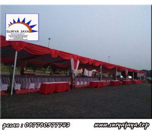 jasa sewa tenda konvensional termurah siap untuk event 17 agustusan anda