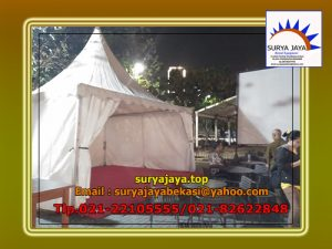 Menyewakan Tenda Sarnafil Untuk Acara Bazar