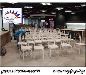 pusat sewa kursi tifany murah elegant