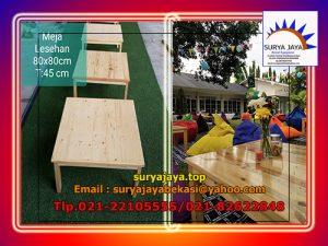 Menyewakan Meja Lesehan Di Tambun Selatan Bekasi