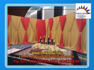 Pusat Sewa Tirai Dekorasi Dengan Beragam Pilihan Warna Dan Model