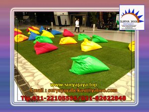sewa bean bag warna-warni