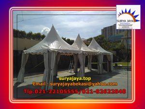 Sewa Tenda Kerucut Lengkap Dengan Flooring Di Bekasi Jakarta