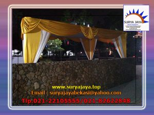 sewa tenda plafon rumbai gold