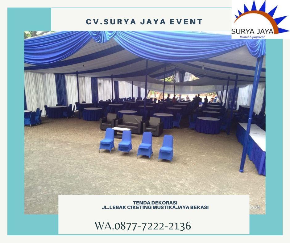 Sewa Tenda Dekorasi Bekasi