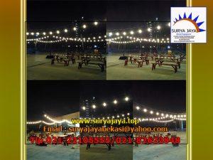 Sewa Lampu Dan Meja Taman Jakarta