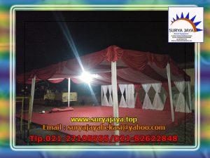 sewa tenda dekorasi serut