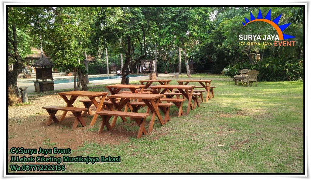 Sewa Meja Kursi Taman kualitas baik harga murah