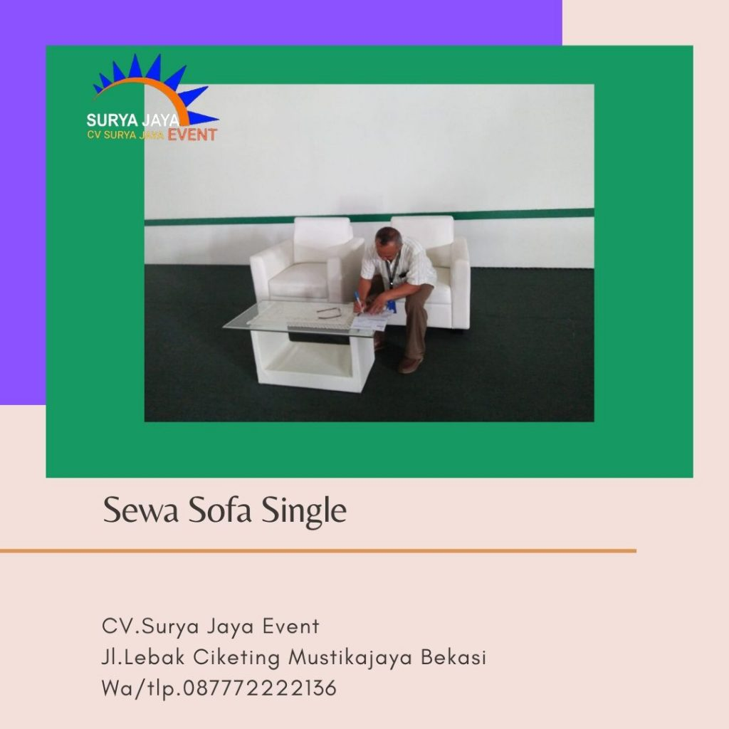 Sewa Sofa Murah Berkualitas Di Jakarta