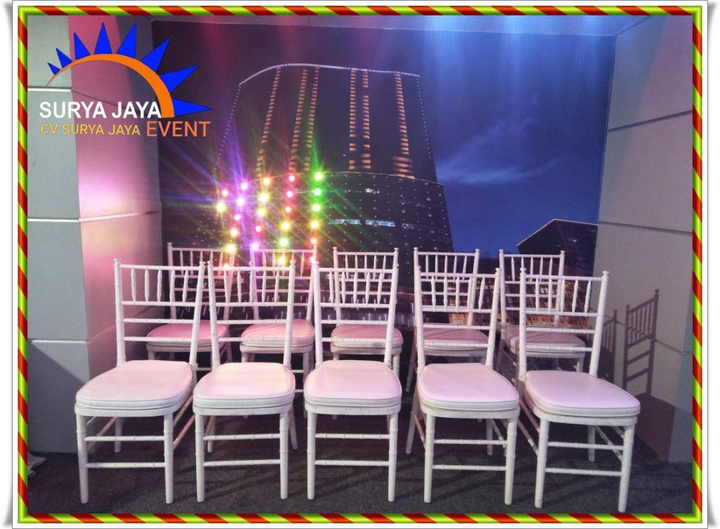 Sewa Kursi Tiffany Murah Jakarta Selatan