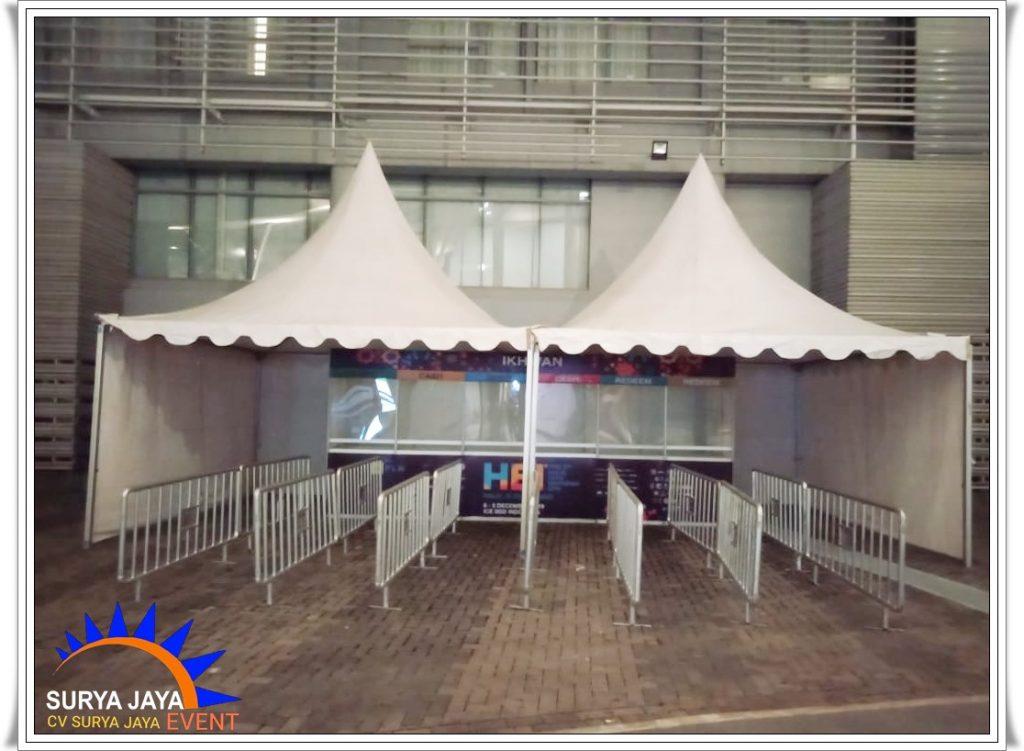 Sewa Tenda Kerucut Bandung Siap Pasang