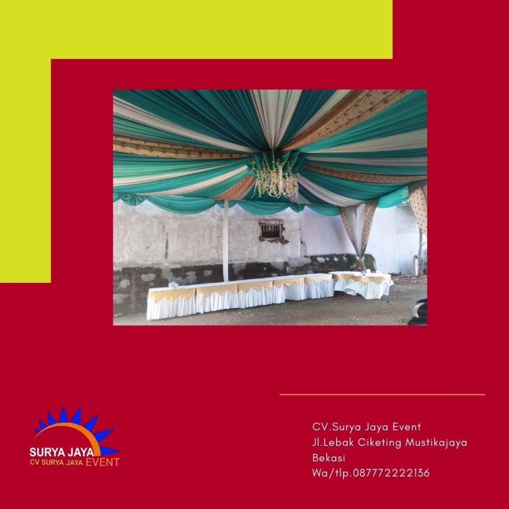 Sewa Tenda Dekorasi Jakarta Pelayanan 24 Jam