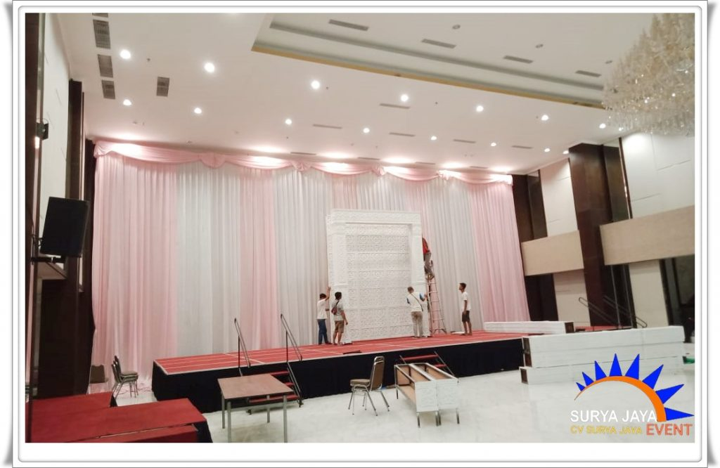 Sewa Tirai Dekorasi Jakarta Pusat