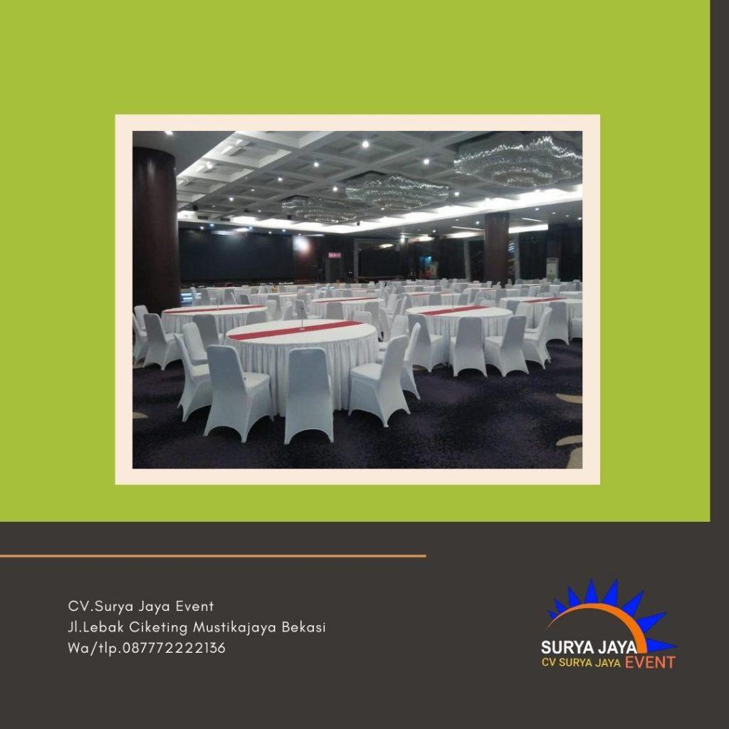 Sewa Meja Bundar Jakarta Pusat Siap Antar Pelayanan 24 Jam