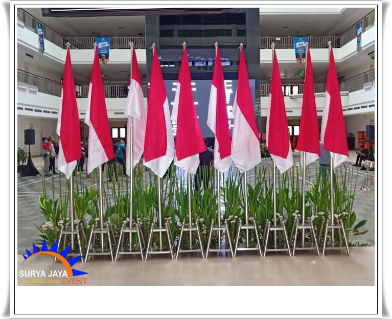 Sewa Tiang Bendera Stainless Kualitas Terbaik Di Bekasi
