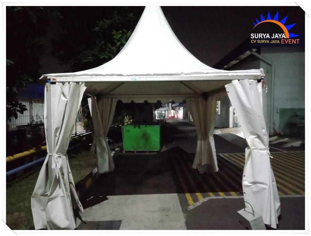 Sewa Tenda Kerucut Ukuran 3x3 Bersih Terawat Siap Kirim Dan Pasang