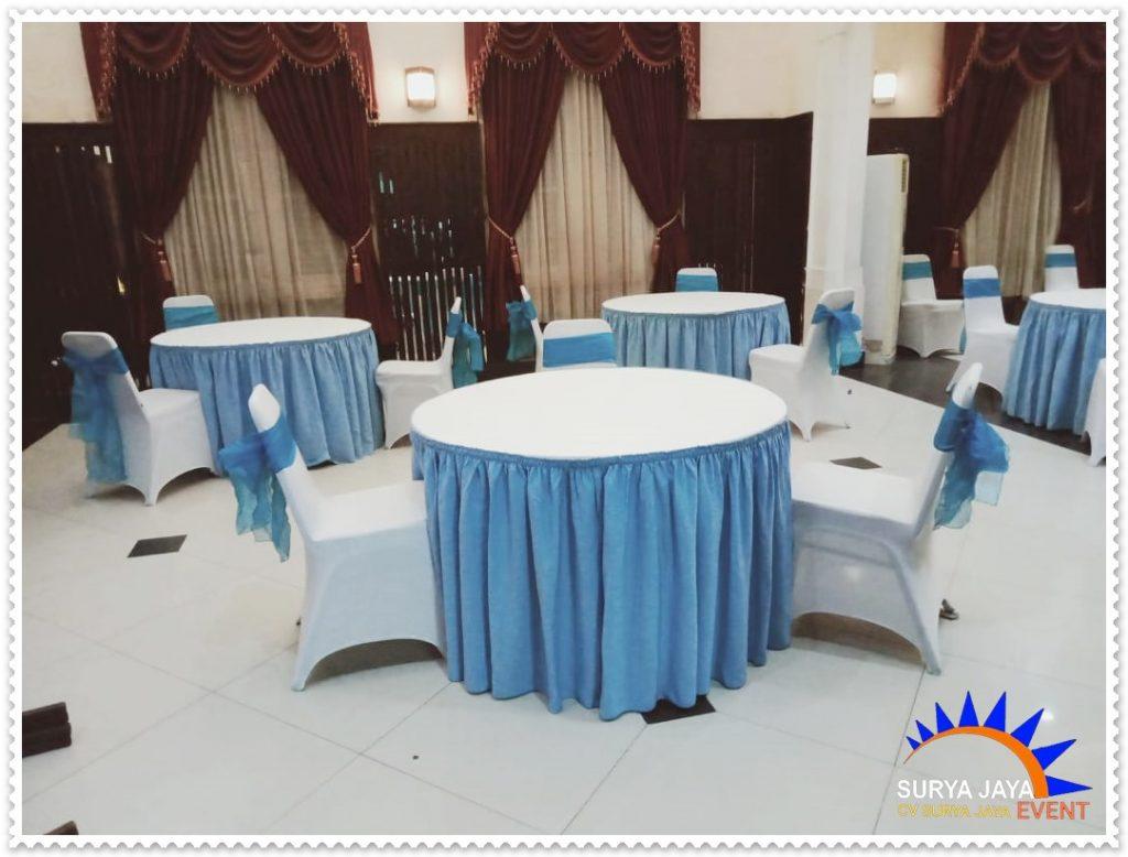Sewa Round Table Bercover Meja Di Bekasi Pelayanan 24 Jam