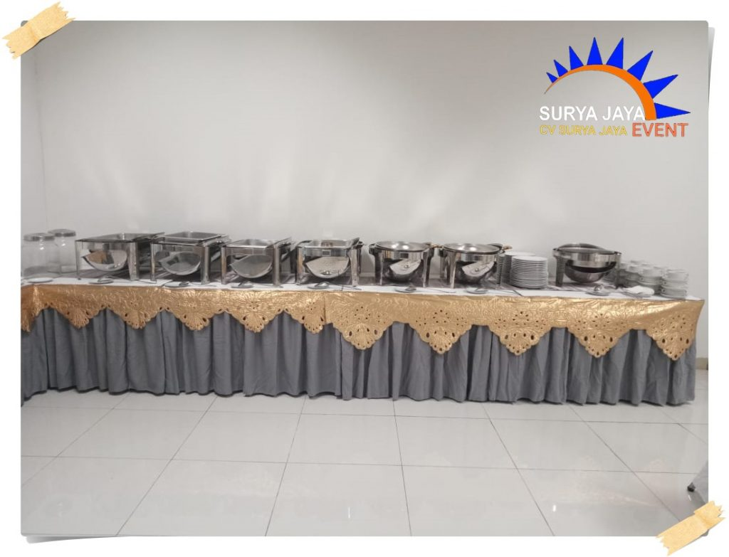 Sewa Meja Untuk Prasmanan Di Kota Jakarta