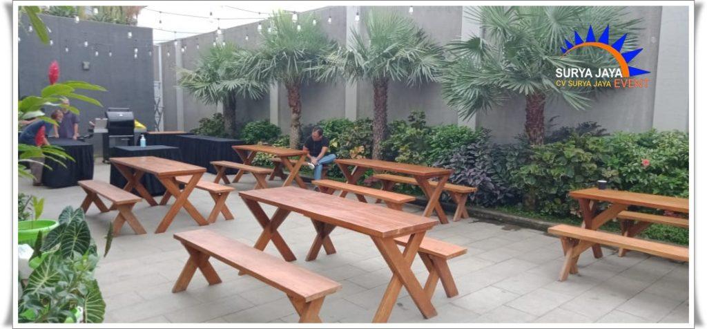 Sewa Meja Kursi Taman Di Kota Jakarta