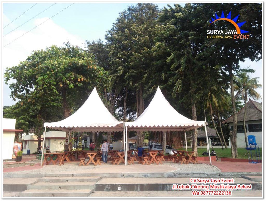 Sewa Tenda Kerucut Murah Berkualitas Di Kota Jakarta