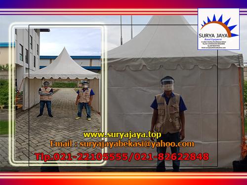 Jasa Sewa Tenda Program Vaksinasi Gotong-royong Jakarta