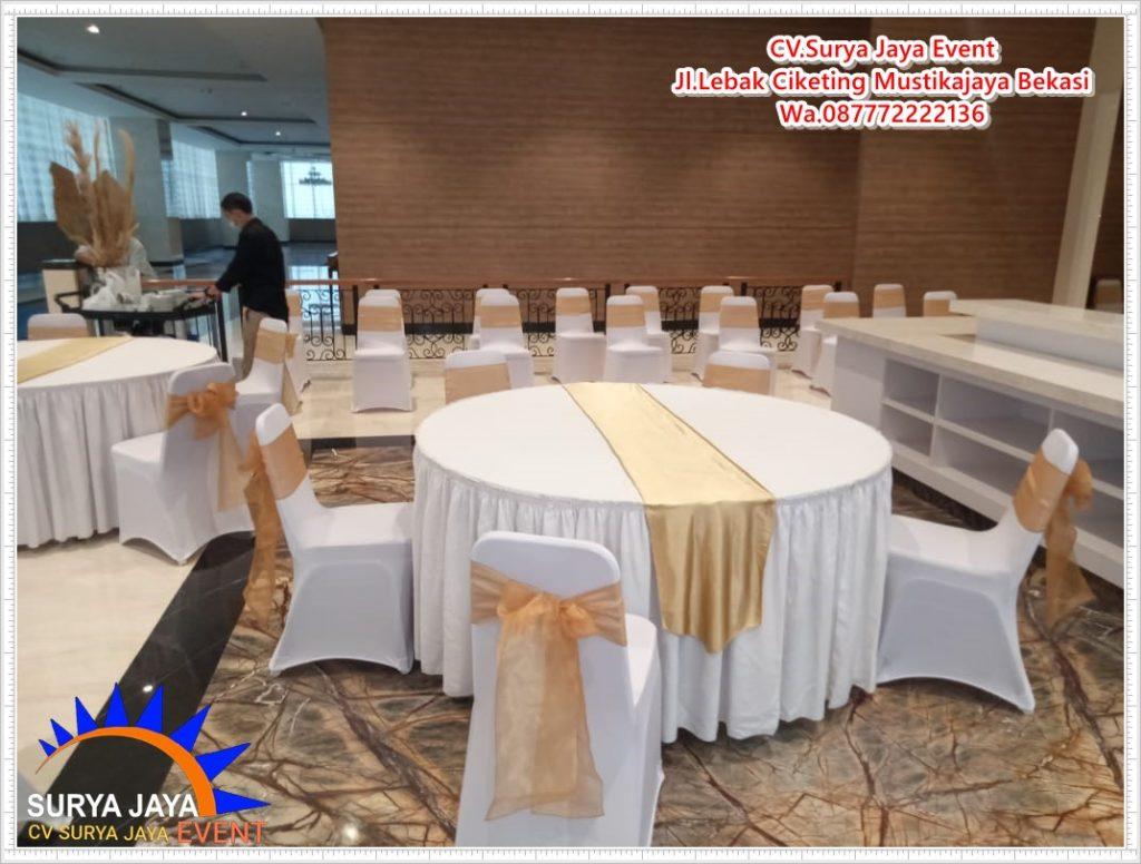 Sewa Meja Bulat Di Jakarta Timur Kota