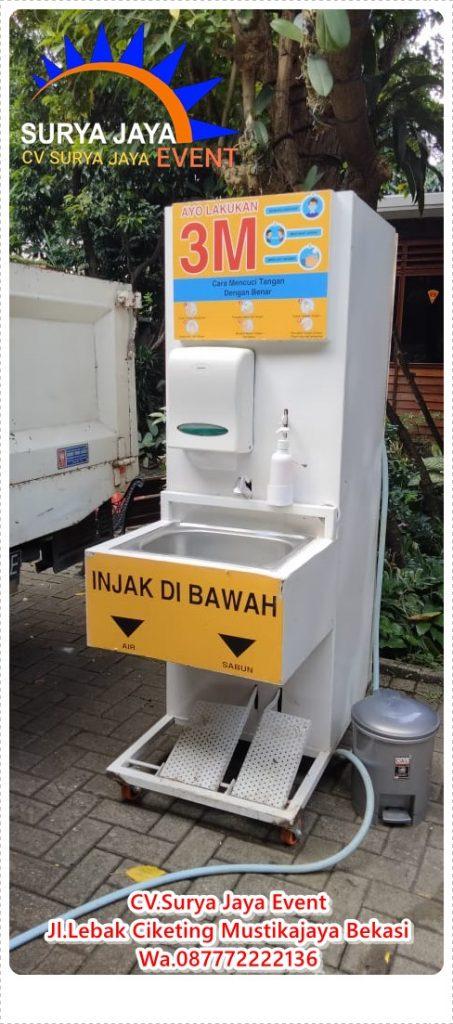 Sewa Wastafel Cuci Tangan Portable Di Jakarta Kota