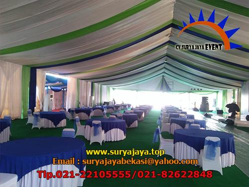 Sewa Tenda Dekorasi Serut Cikarang