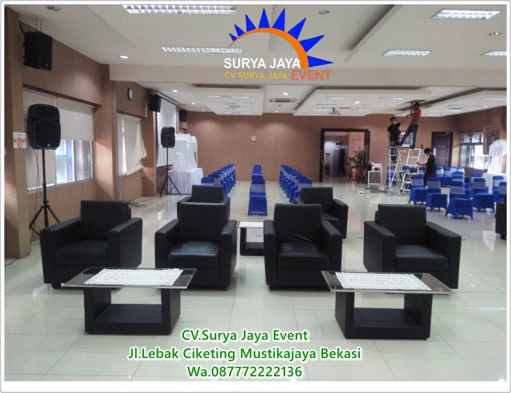 Rental Kursi Sofa Single Dengan Kondisi Bagus Bersih Dan Terawat