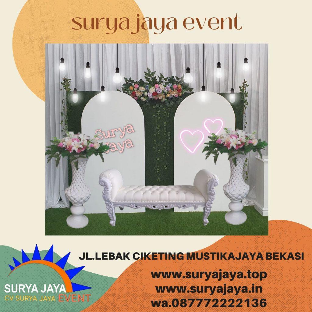 Sewa Kursi Pelaminan Dan Dekorasi Resepsi Pernikahan Di Bogor
