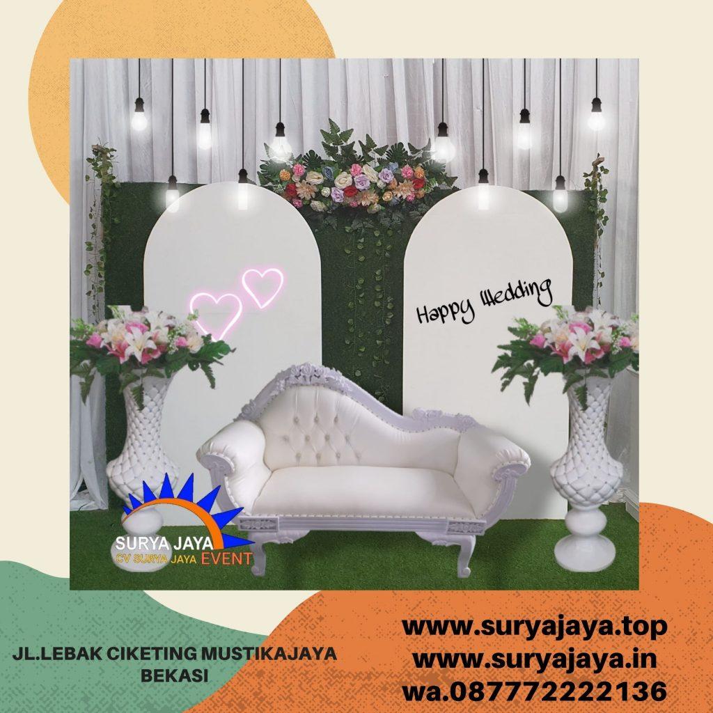 Sewa Kursi Pelaminan Dan Dekorasi Resepsi Pernikahan Bogor